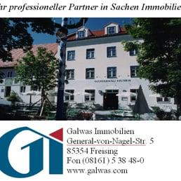 Galwas Immobilien - Agenzie immobiliari - General-von-Nagel-Str. 5, Freising, Bayern, Germania ...