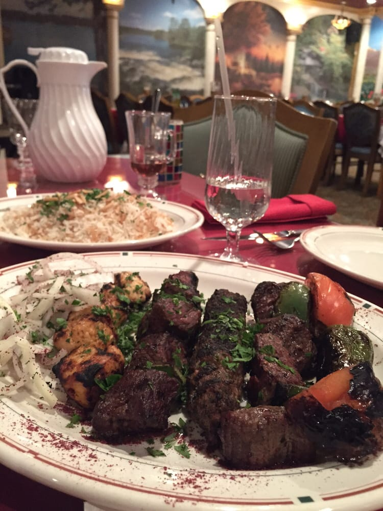 Beef chicken and kofta kebabs amazing yelp for Ali baba cuisine