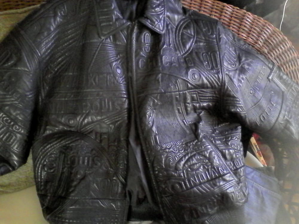 lamb skin leather jacket repaired at Anthony's shoe and leather ...