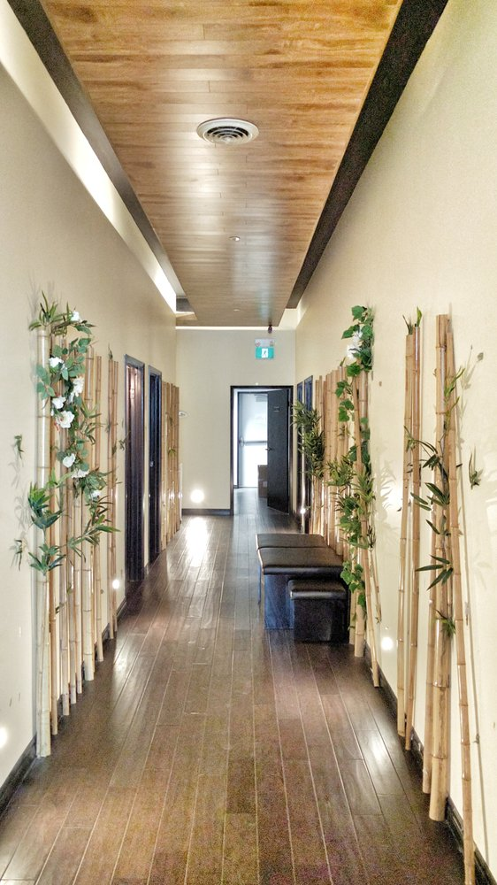 Hallway to Massage Rooms