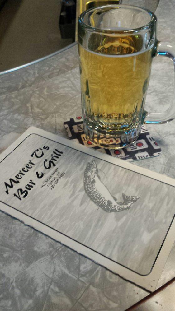 Mercer T's Bar & Grill: 962 Main, Clyman, WI