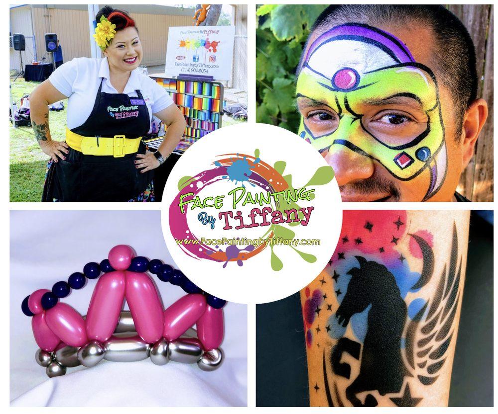 Face Painting By Tiffany: Yorba Linda, CA
