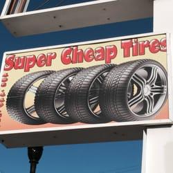 Super Cheap Tires - 88 Keyes St, Fairgrounds, San Jose, CA