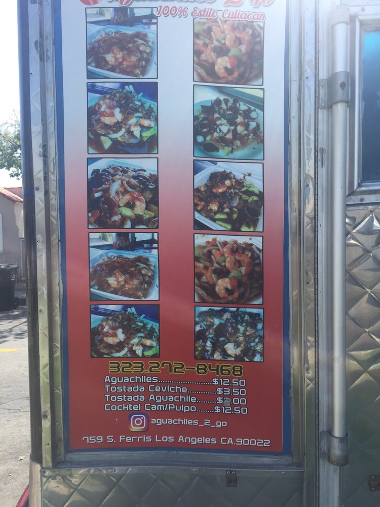 Aguachiles 2 go: 759 South Ferris Ave, East Los Angeles, CA