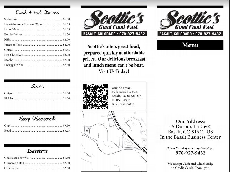 Scottie's: 45 Duroux Ln, Basalt, CO