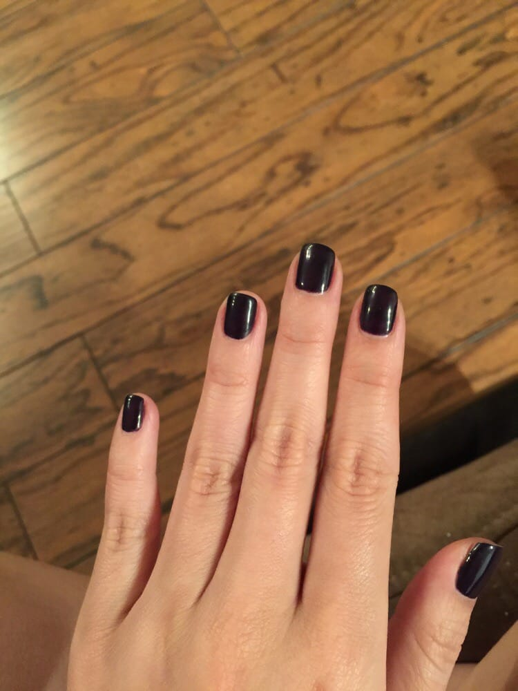 Photo Of Celebrity Nails Plano Tx United States Gel Nail Manicure After