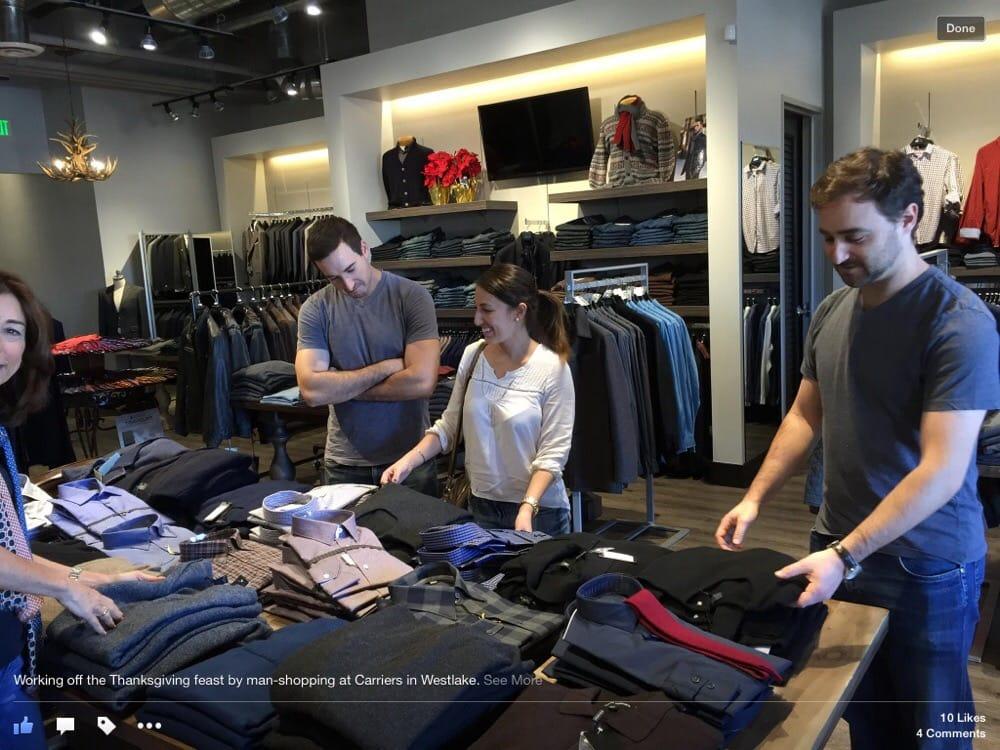 Carriere Menswear: 30770 Russell Rd, Westlake Village, CA
