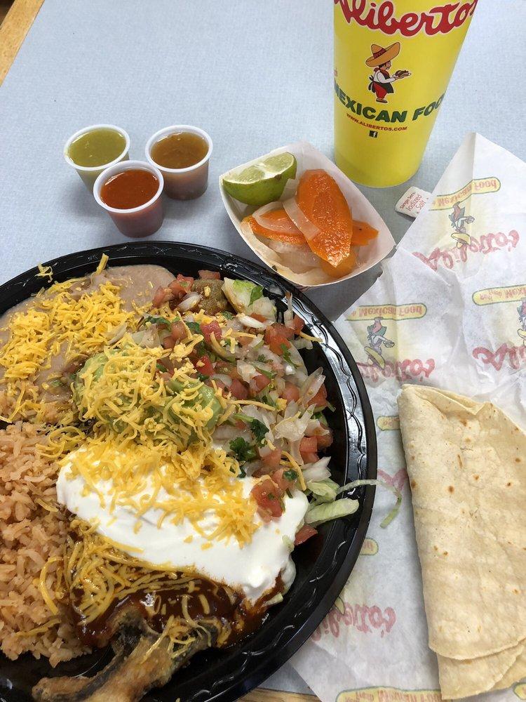 Aliberto's Mexican Food: 1440 Navajo Blvd, Holbrook, AZ