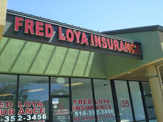 Fred Loya Insurance 699 Lewelling Blvd Ste 284 San Leandro Ca