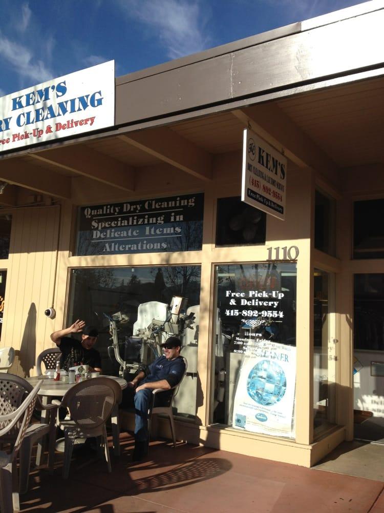Kem's Dry Cleaning: 1110 1/2 Grant Ave, Novato, CA