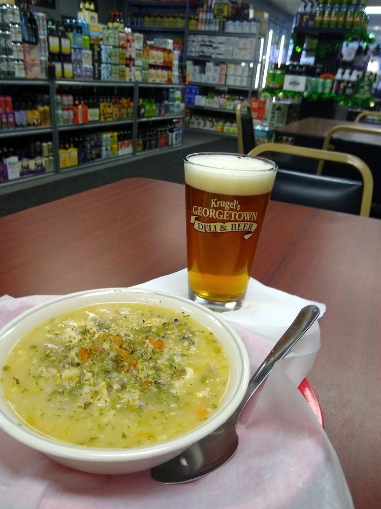 Social Spots from Krugel's Georgetown Deli & Beer