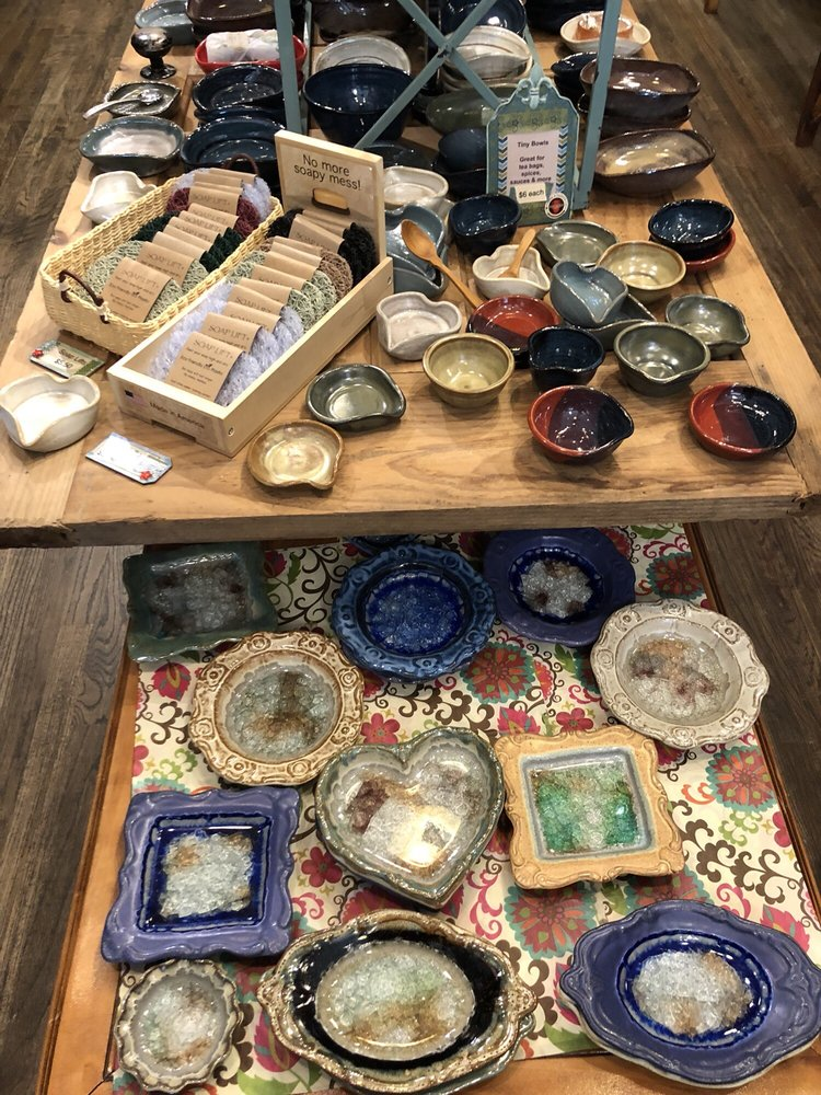 Bolick and Traditions Pottery: 1155 Main St, Blowing Rock, NC