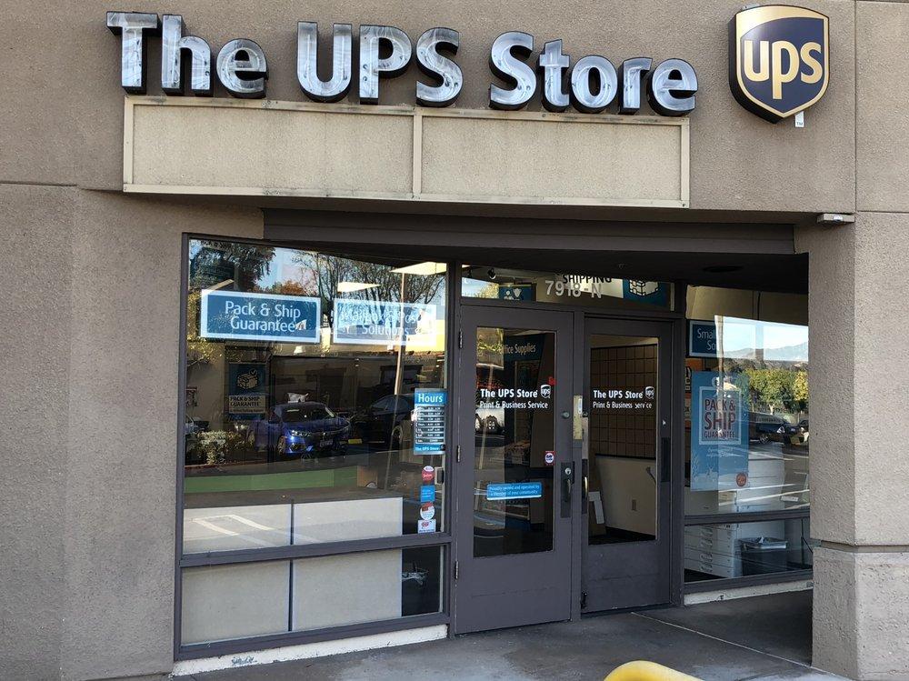 The UPS Store: 7918 El Cajon Blvd, La Mesa, CA