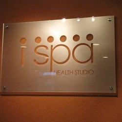 i spa Health Studio logo