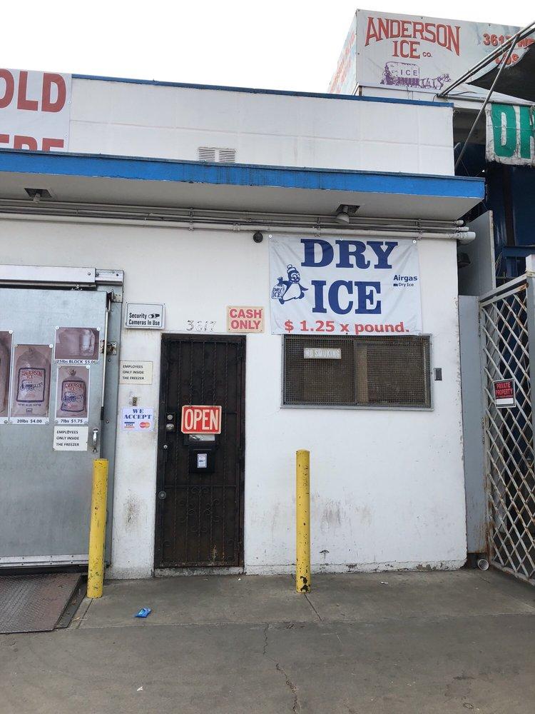 Anderson Ice: 3617 W Jefferson Blvd, Los Angeles, CA