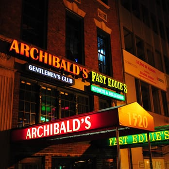 Archibalds strip bar review images