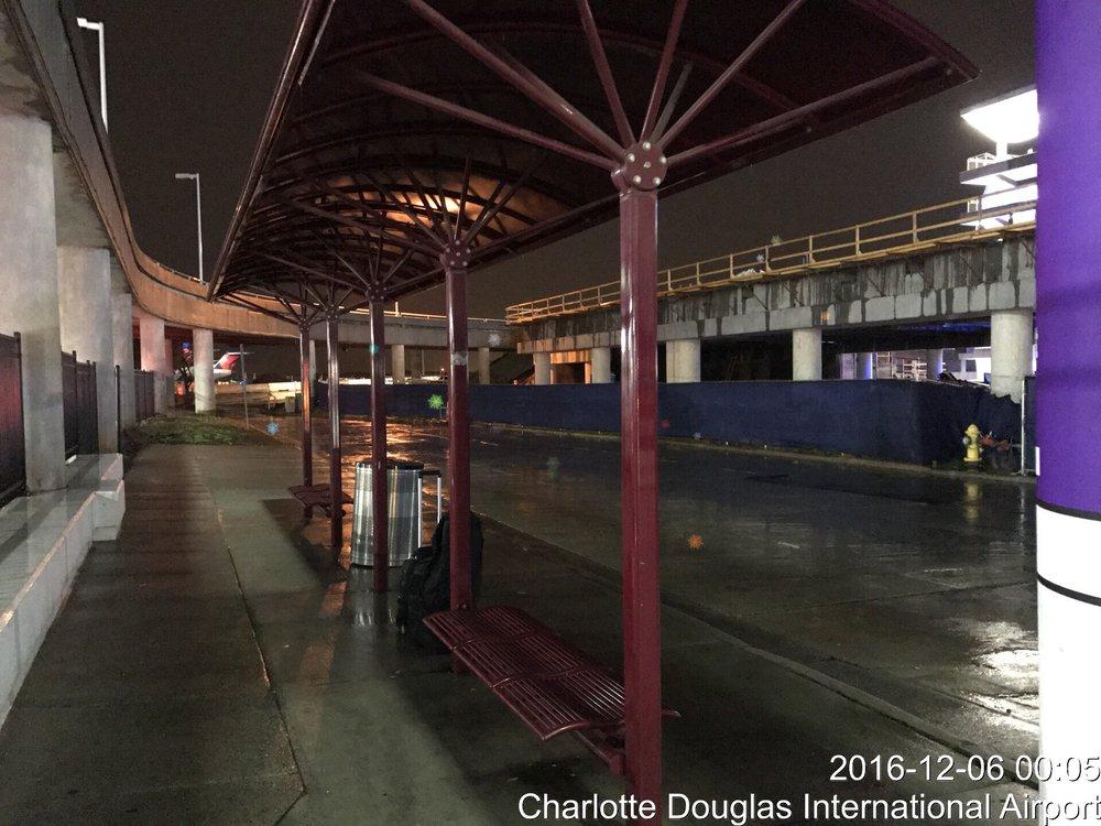 No Illumination Of Park N Go Pickup Area Despite Many