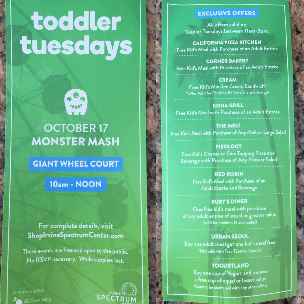 Toddler Tuesdays - Free event for families - Yelp