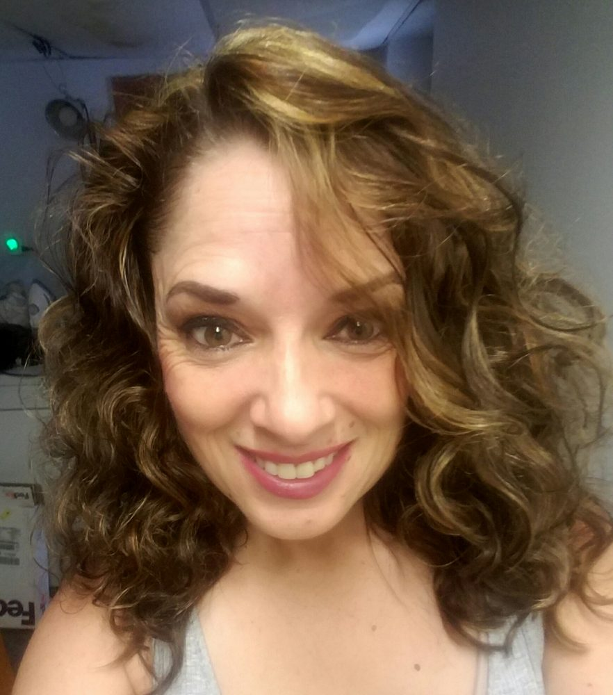 With Cut Color And Highlight Thick Curly Hair Yelp