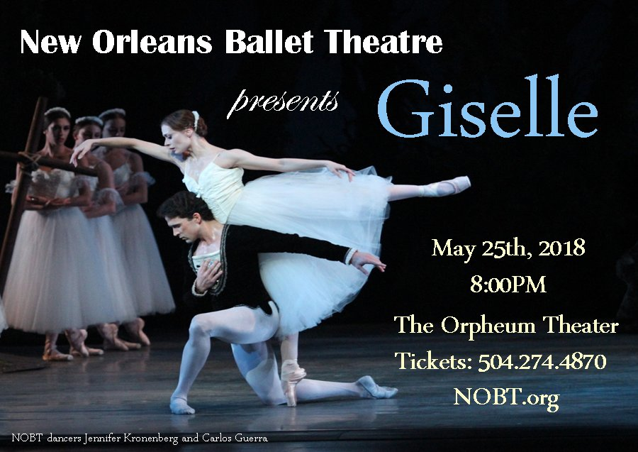 New Orleans Ballet Theatre: 920 Terpsichore, New Orleans, LA