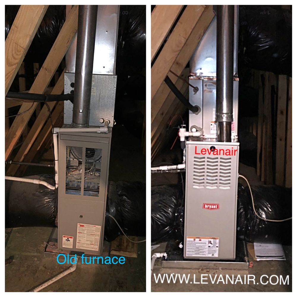 Levanair Heating & Air Conditioning: 4582 Barringer Pl, Fairfax, VA