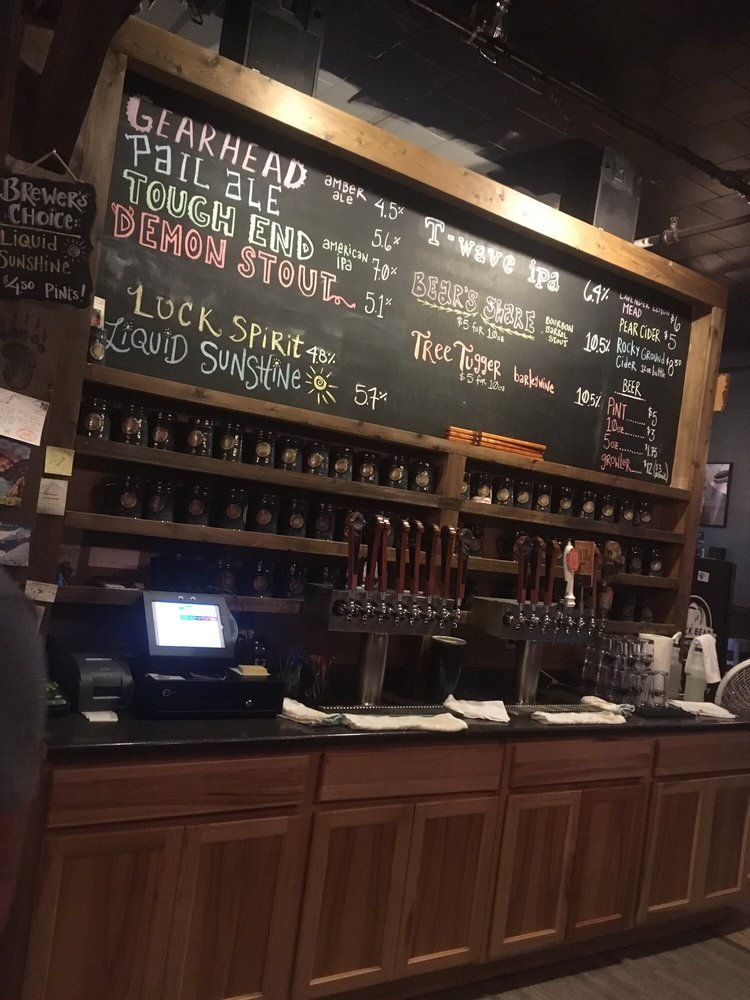 Food from Black Bear Brewing