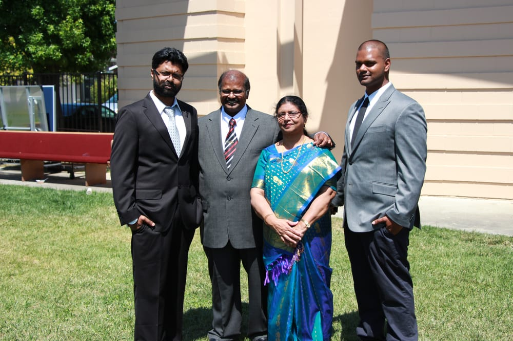 Pastor ranjan samuel his wife mrs usha samuel and his children yelp photo of christ church of india san jose ca united states pastor publicscrutiny Gallery