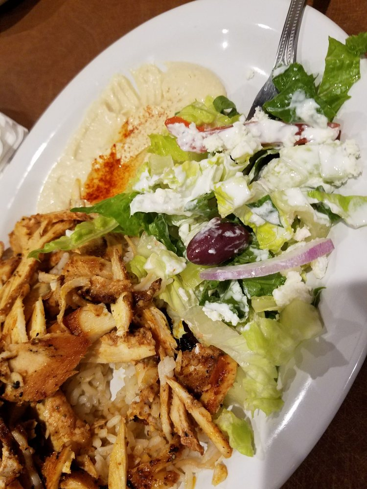 Chicken shawarma greek salad yelp for Al bawadi mediterranean cuisine