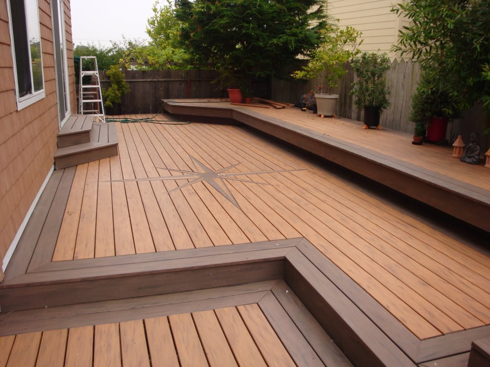 Sunset Beach Deck Using Timber Tech Composite Decking