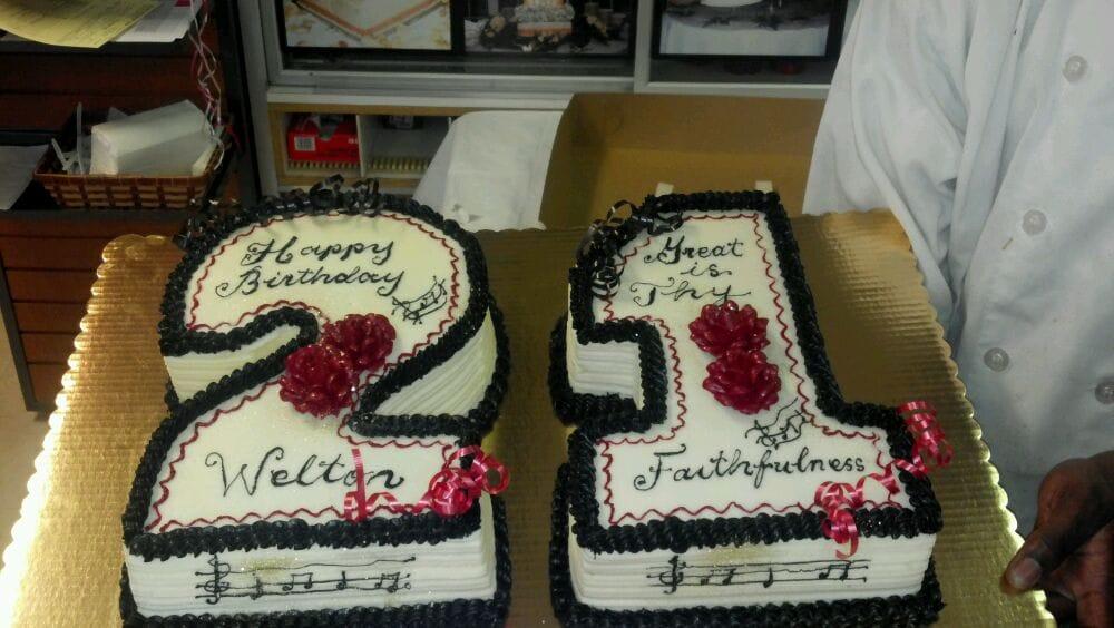 My brothers 21st Birthday cake Yelp