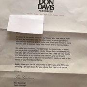 Don Davis Ford >> Don Davis Ford Lincoln Mercury 45 Reviews Auto Repair 633 N