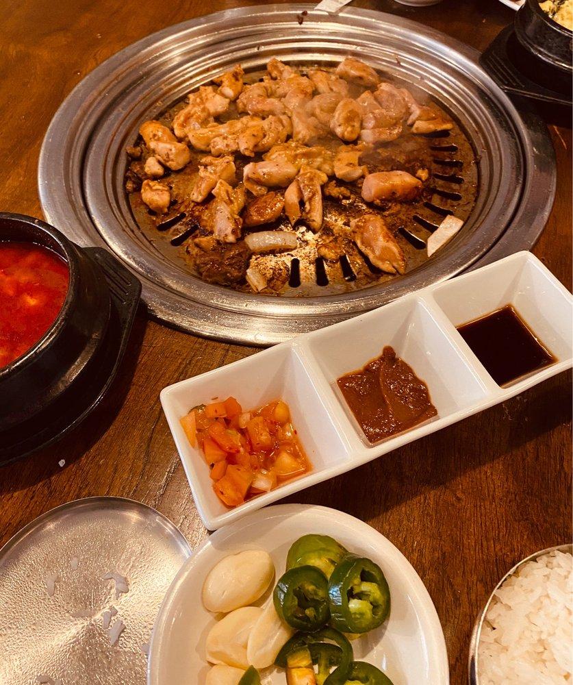 Food from Koba Korean Bbq
