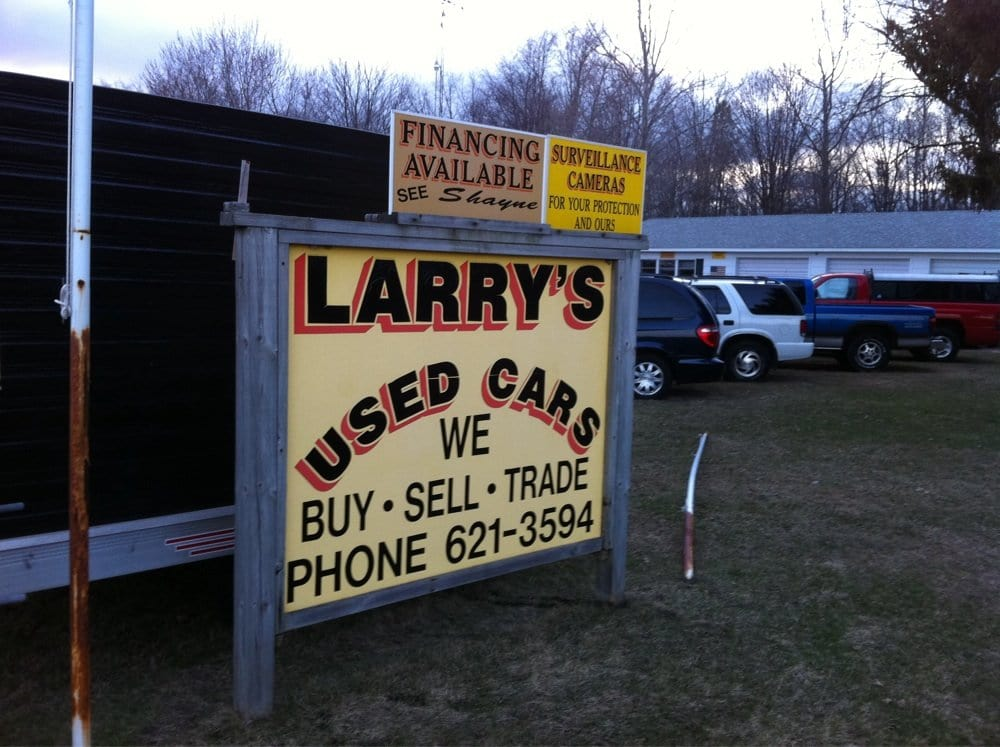 Larry's Used Cars: 60286 Red Arrow Hwy, Hartford, MI