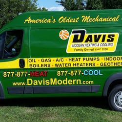 Davis Modern Heating Cooling