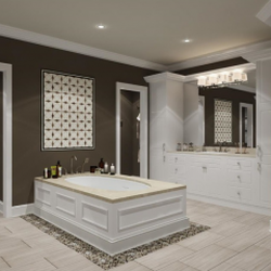 Generous Dual Bathroom Sink Tall Painting Bathroom Vanity Pinterest Square Master Bath Remodel Plans Wash Basin Designs For Small Bathrooms In India Youthful Bathroom Shower Pans Plumbing Supplies BrightDelta Faucets For Bathtub A\u0026amp;E Kitchen And Bath Design Center   13 Photos   Contractors   71 ..