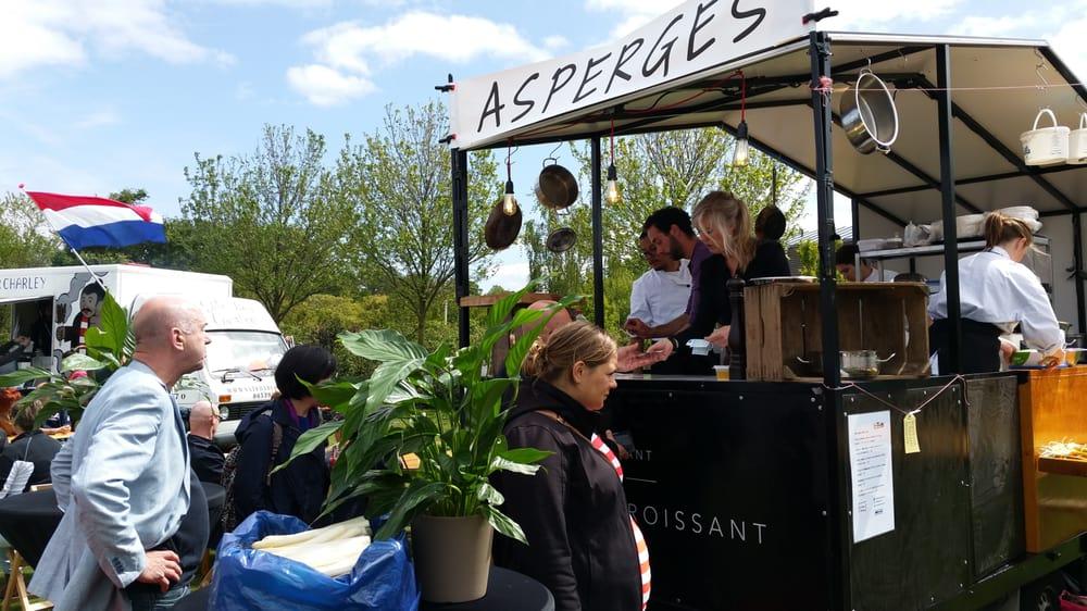 De Rollende Keukens : Asperges @ weekend van de rollende keukens yelp