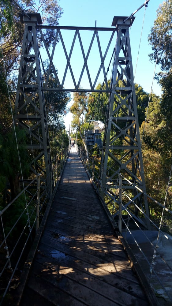 Spruce Street Bridge - San Diego, CA, United States. You're suspended
