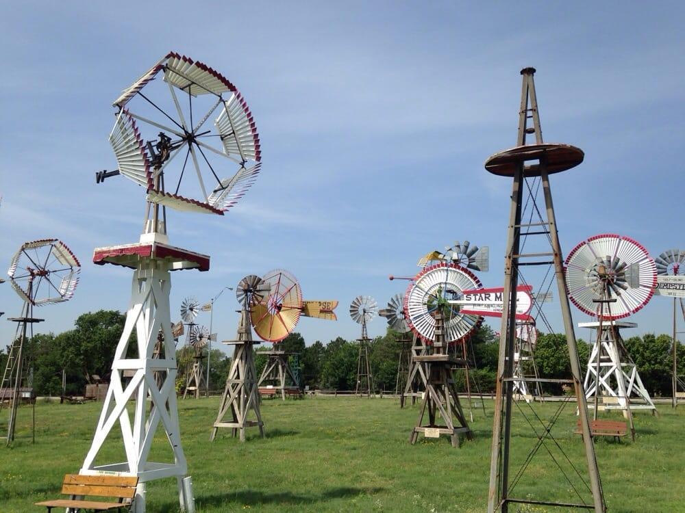Shattuck  Windmill Museum: 120 E 11th St, Shattuck, OK