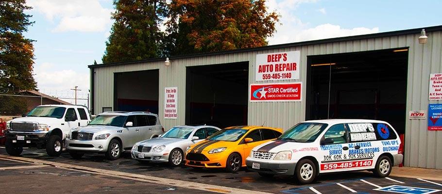 Deep's Auto Repair: 5240 E Jensen Ave, Fresno, CA