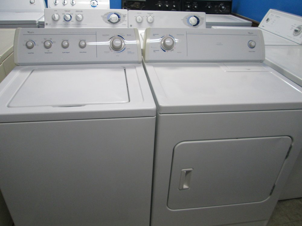 Photo Of A J Liances Berthoud Co United States Whirlpool Washer Dryer