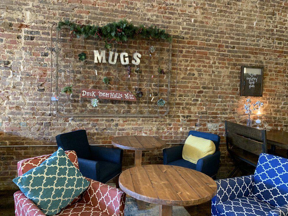 Mugs On the Square: 1123 Main St, Commerce, TX