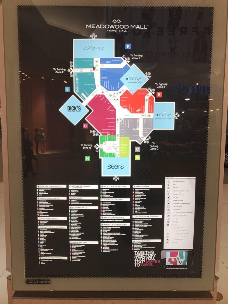 Meadowood Mall Map Mall Map   Yelp Meadowood Mall Map