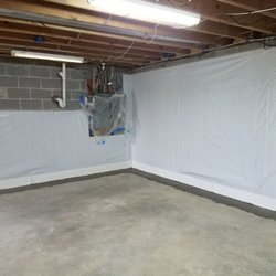Merveilleux Photo Of Armored Basement Waterproofing   Baltimore, MD, United States.  Wall Liner Around
