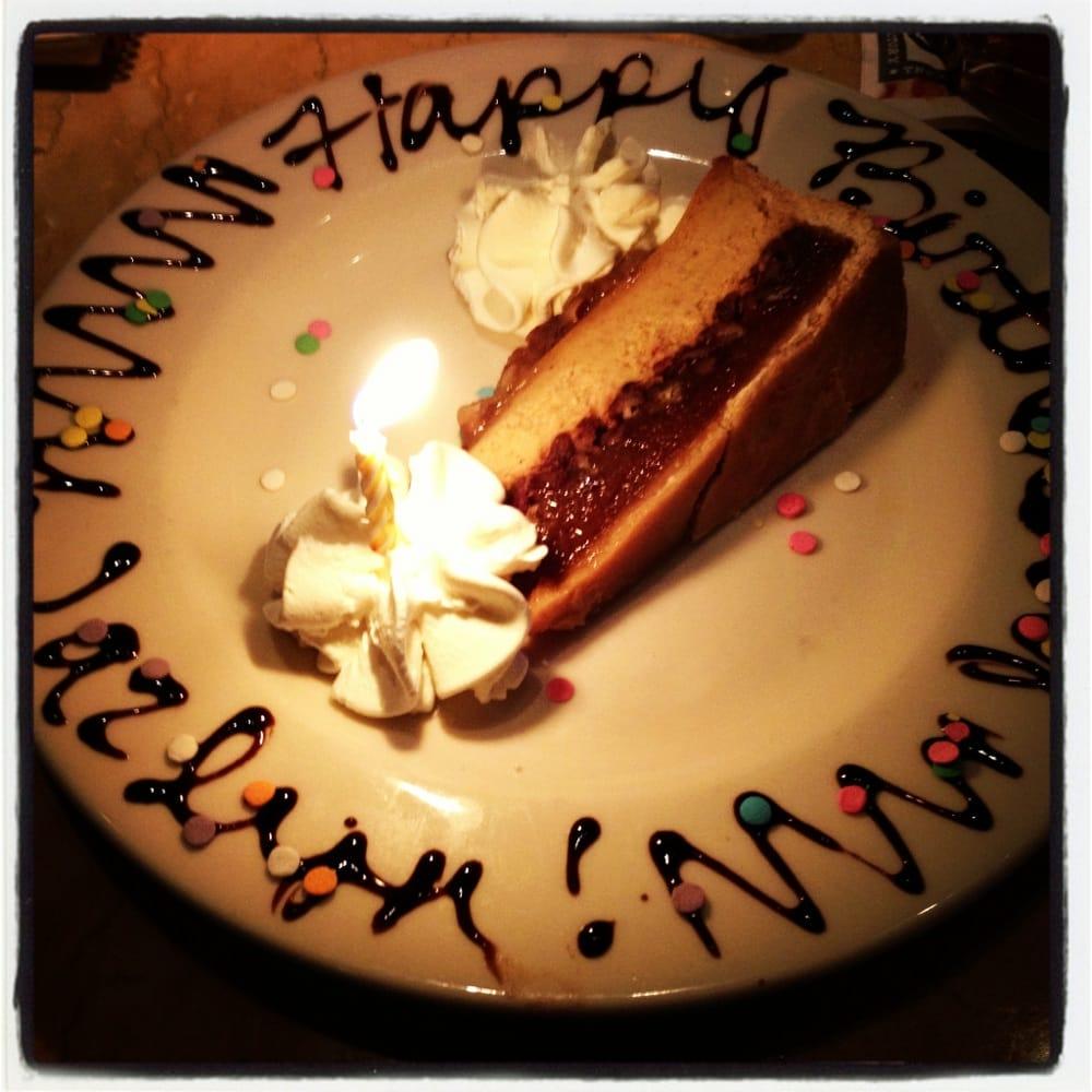 My Birthday Dinner, The Dessert Was The Best Part !