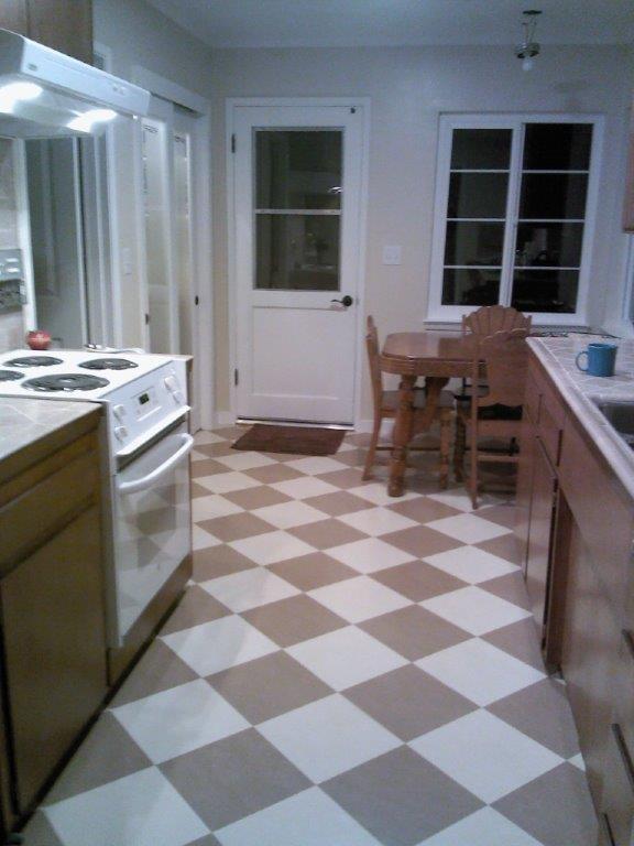 linoleum floor installed in a soquel ca kitchen marmoleum click in barbados camel yelp. Black Bedroom Furniture Sets. Home Design Ideas
