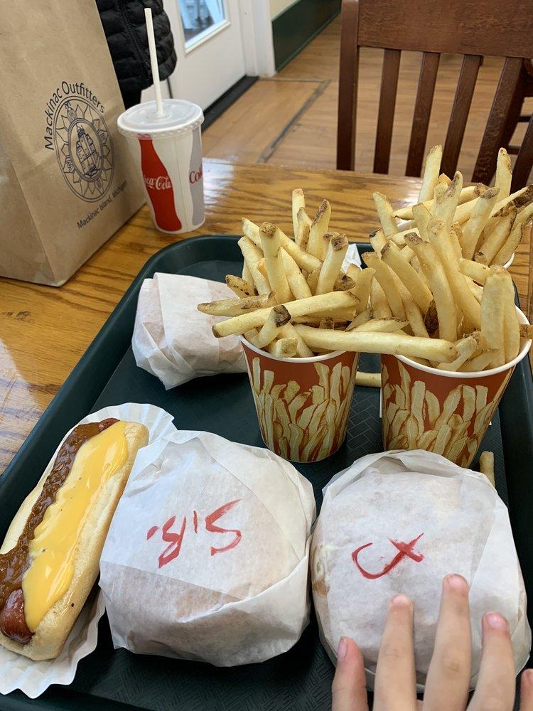 Mighty Mac Hamburgers: Main St, Mackinac Island, MI