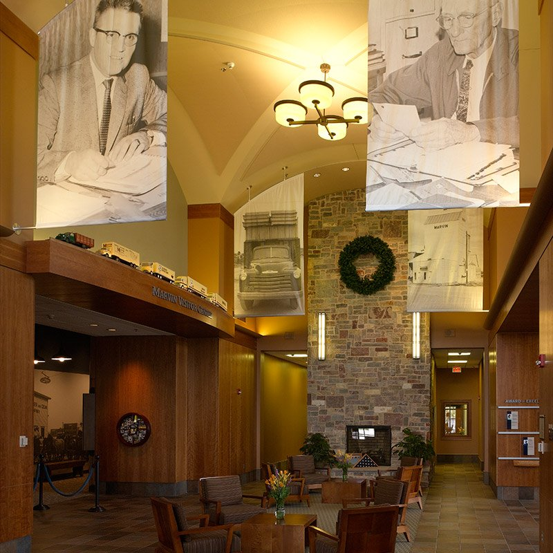 Marvin Training & Visitors Center: 704 Hwy 313 N, Warroad, MN
