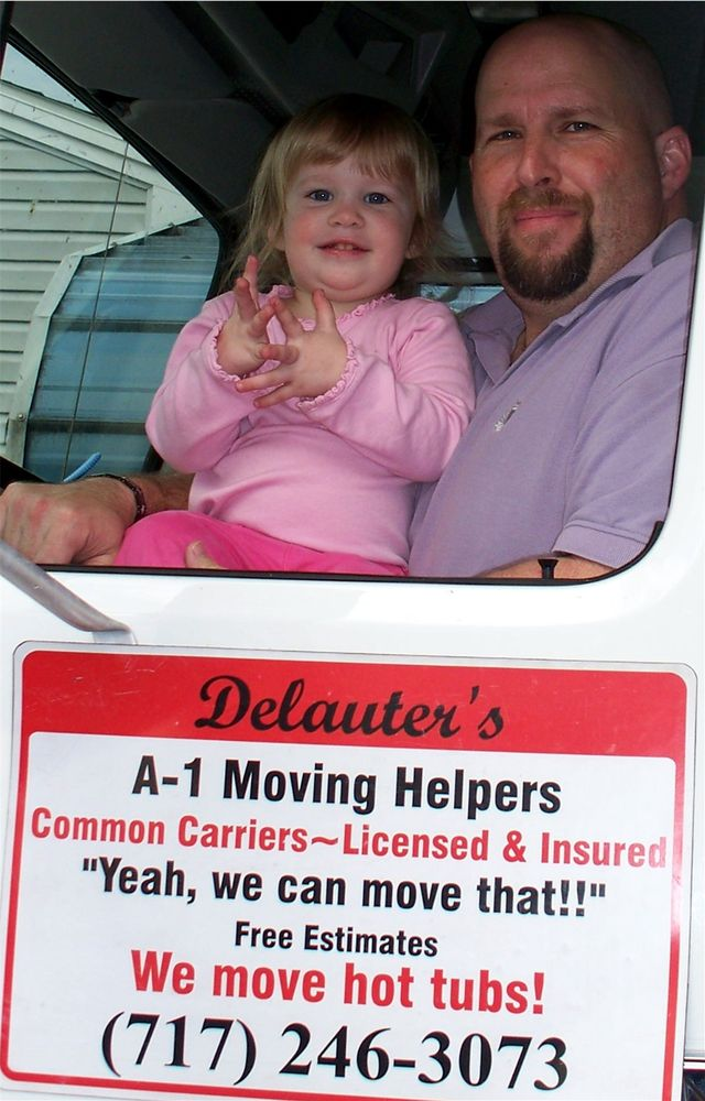 Delauters A-1 Moving Helpers: Windsor, PA