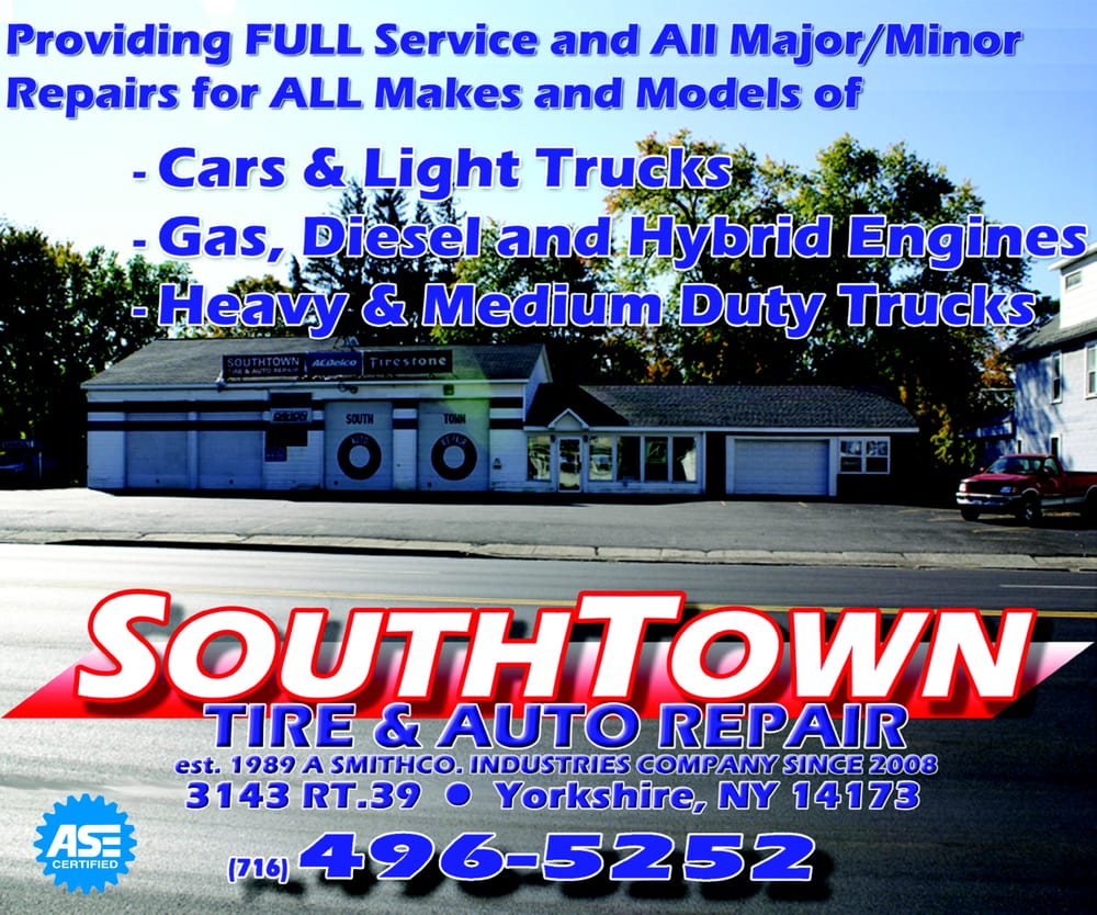 South Town Tire Inc: 3143 Rt 39, Yorkshire, NY