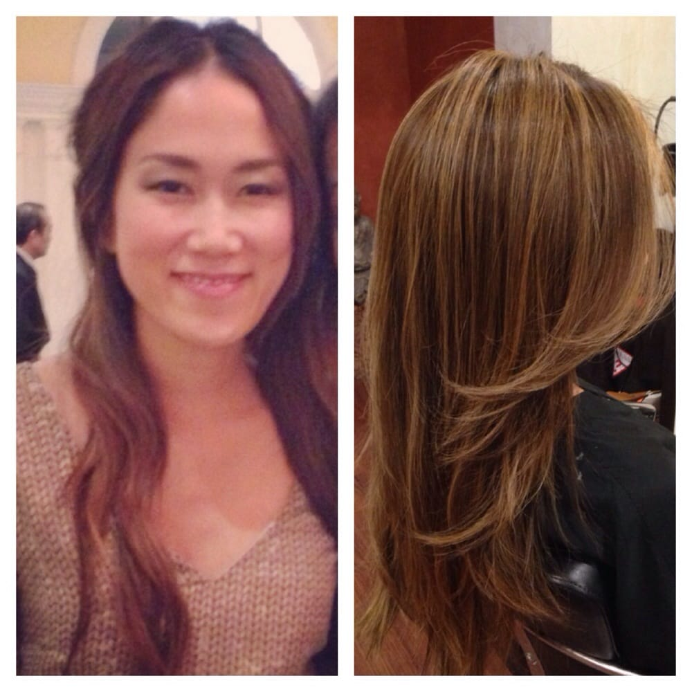 Magic straight perm vs keratin - Gentle Photo Of Bambiana For Long Hair San Francisco Ca United States Before